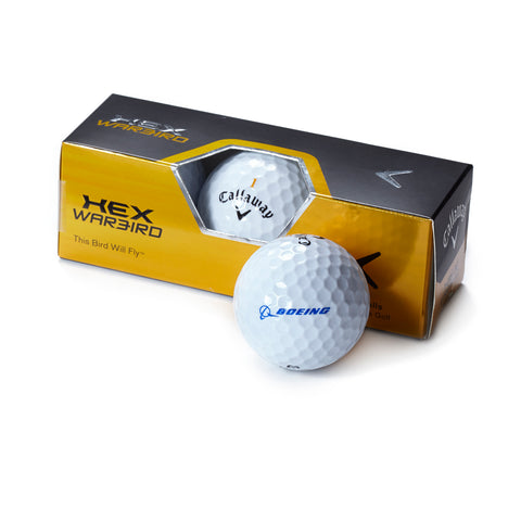 Callaway Warbird Golf Ball 3-Pack