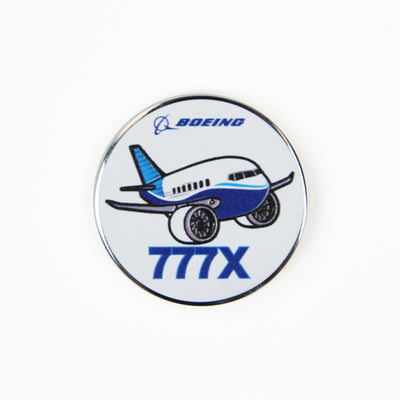 Boeing 777X Pudgy Pin (2866181210234)