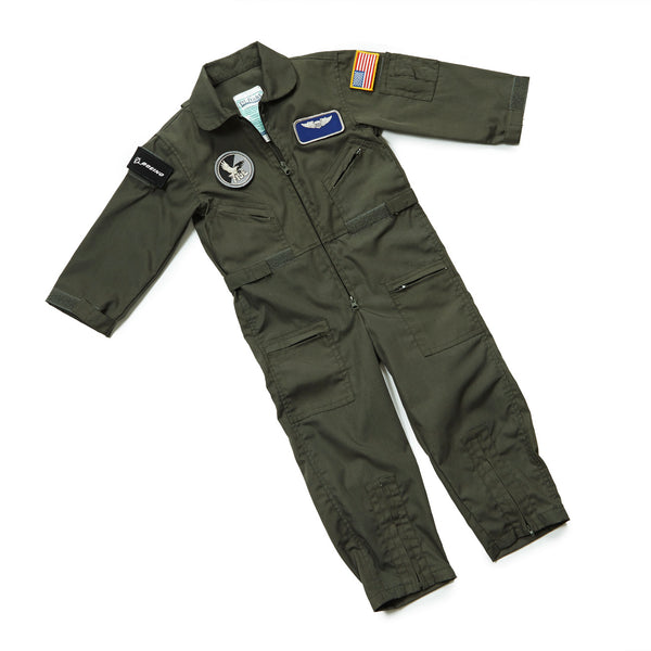 Youth Flight Suit With Name Patch