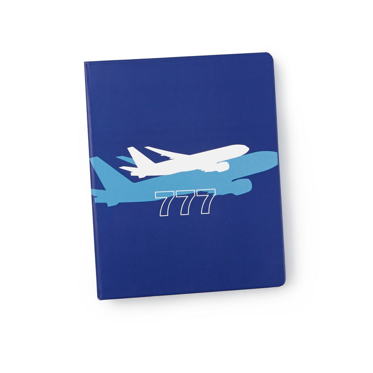 Boeing 777 Shadow Graphic Notebook