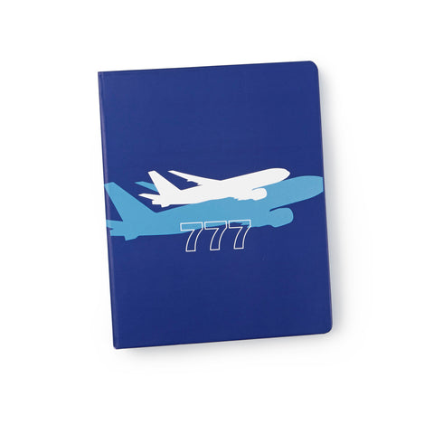 777 Shadow Graphic Notebook