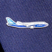 Boeing Illustrated 747 Lapel Pin