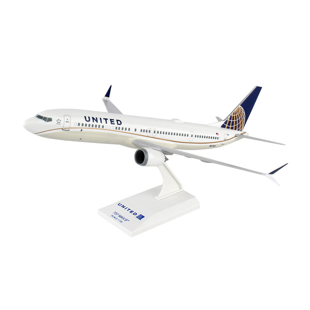 United Airlines Boeing 737 MAX 9 1:130 Model