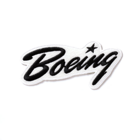 Boeing Script Heritage Patch