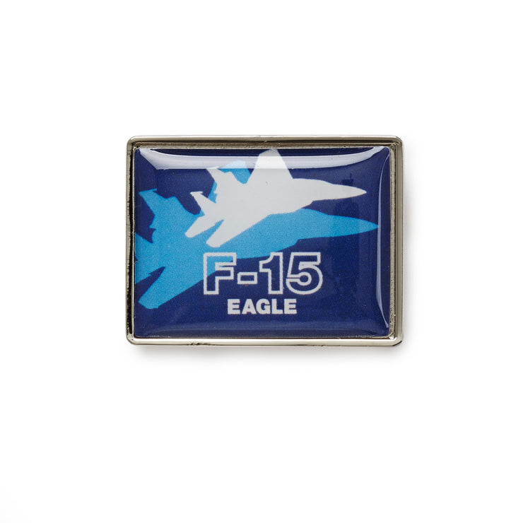 Boeing Shadow Graphic F-15 Lapel Pin (199367000076)