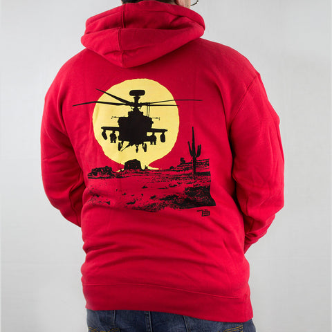 Ames Bros Apache Eclipse Graphic Hoodie