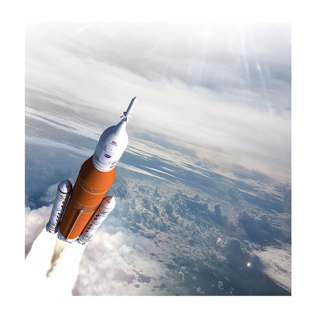 Boeing SLS Matted Print  - Small