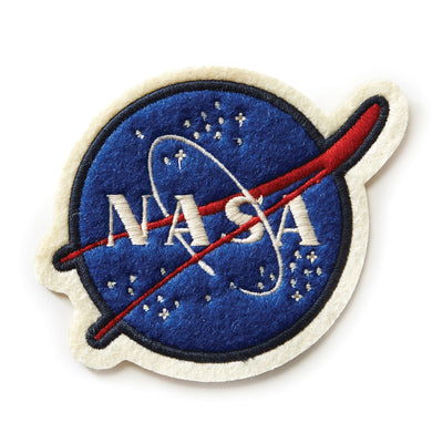 Red Canoe NASA Woven Patch (3045001101434)