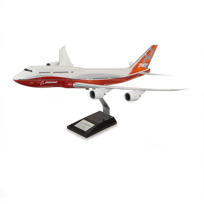 747-8 Int Plastic 1:144 Model - Sunrise Livery