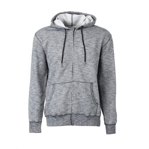 Boeing Signature Heather Fleece Full-Zip Hoodie