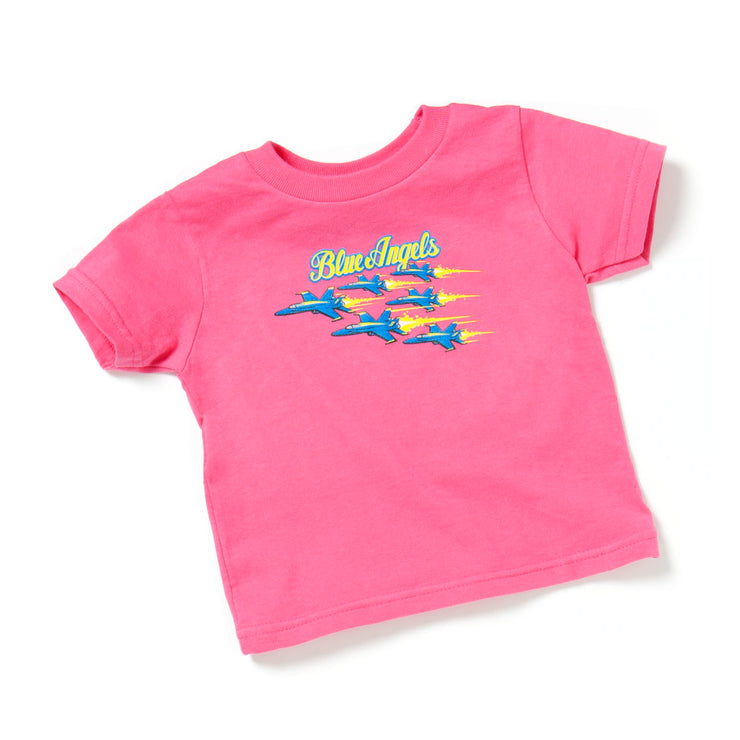 Blue Angels Toddler T-shirt - Pink