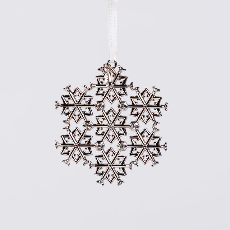 Boeing Jet Snowflake 2019 Flat Holiday Ornament (2933190164602)
