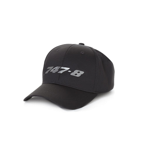 747-8 Midnight Silver Hat