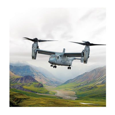 Boeing V-22 Matted Print - Large