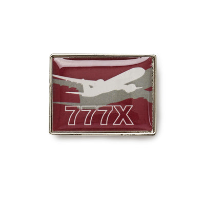 Boeing Shadow Graphic 777X Lapel Pin (199285374988)