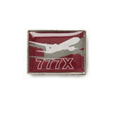 777X Shadow Graphic Lapel Pin