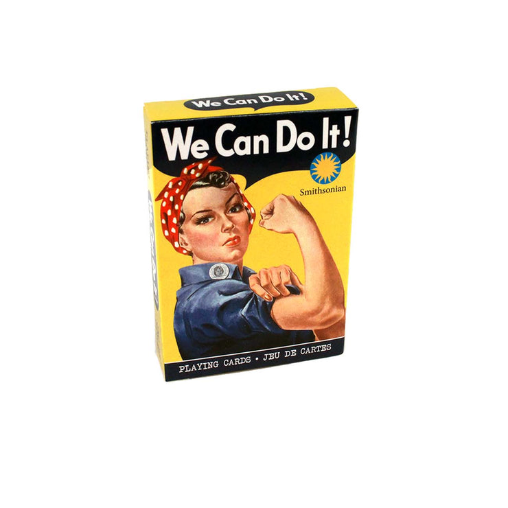 We Can Do It! Rosie Playing Cards
