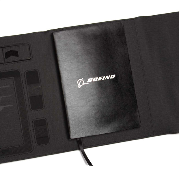Boeing Small Padfolio With Wireless Power Bank