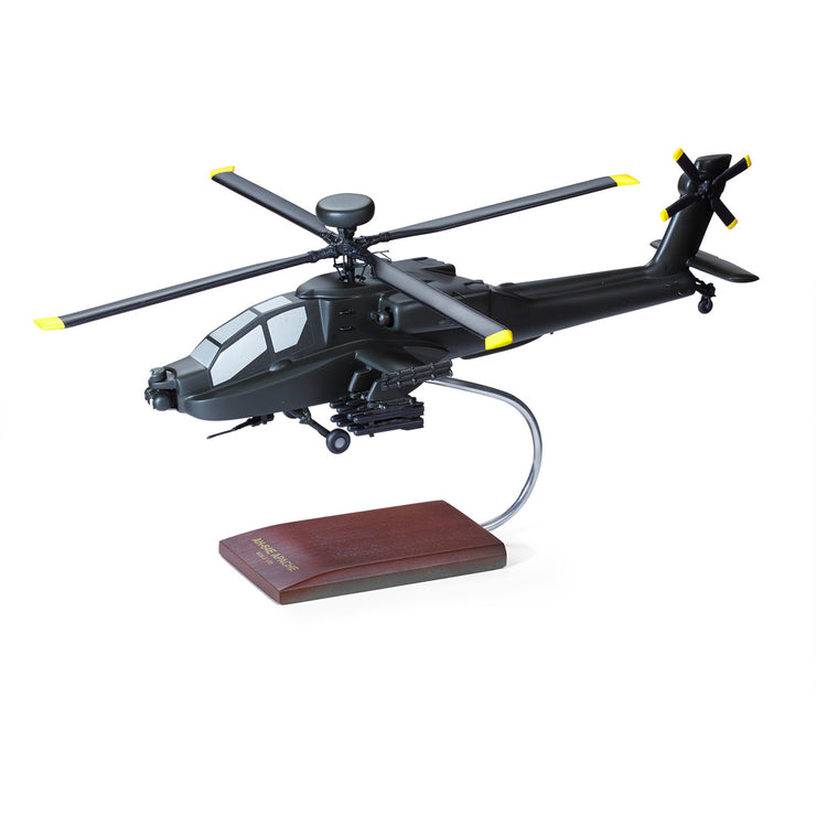 Boeing AH-64E Apache Wood 1:32 Model (241072406540)