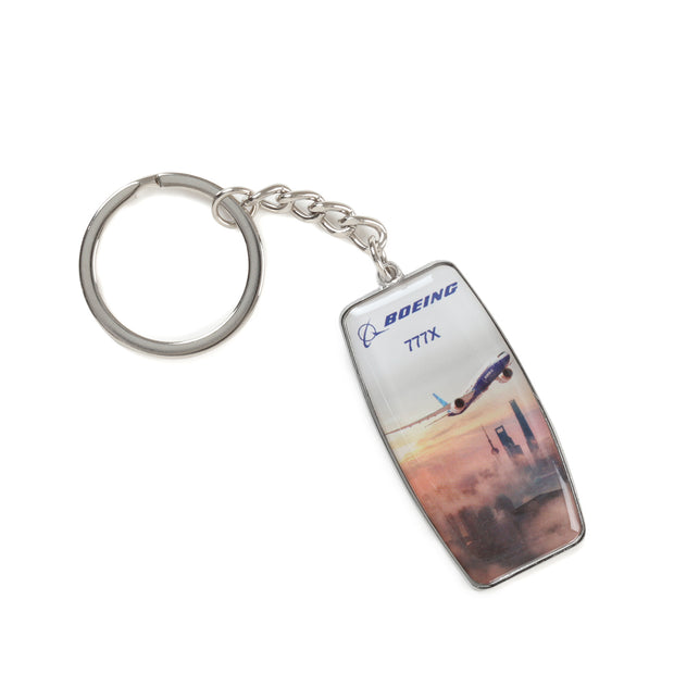 Boeing Endeavors 777X Keychain