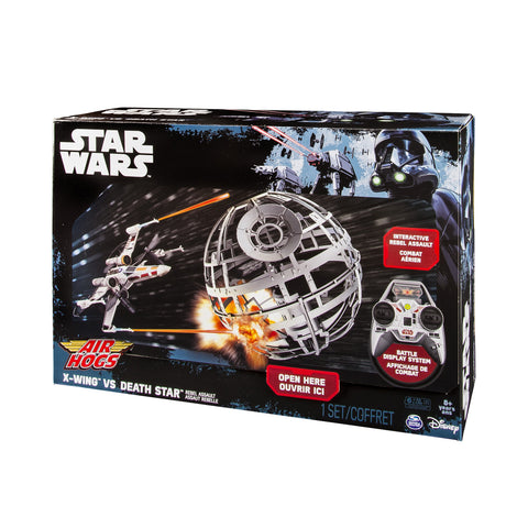 Air Hogs RC Star Wars X-Wing vs. Death Star Rebel Assault Drone