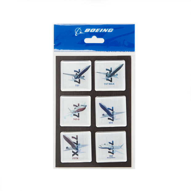 Commercial Airplanes X-Ray Graphic Magnet Set (75169464332)