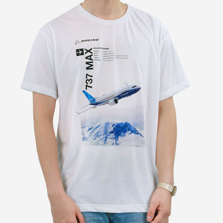 Boeing Endeavors 737 MAX T-Shirt (2783491850362)
