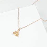 Paper Airplane Necklace (2782606196858)
