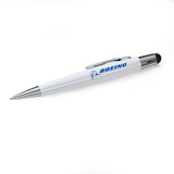 Boeing Mini Oval Twist-Action Ballpoint Pen/Stylus