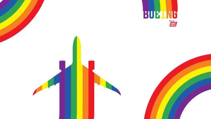 Ames Bros Boeing Pride Desktop Wallpaper – White (2815666552954)