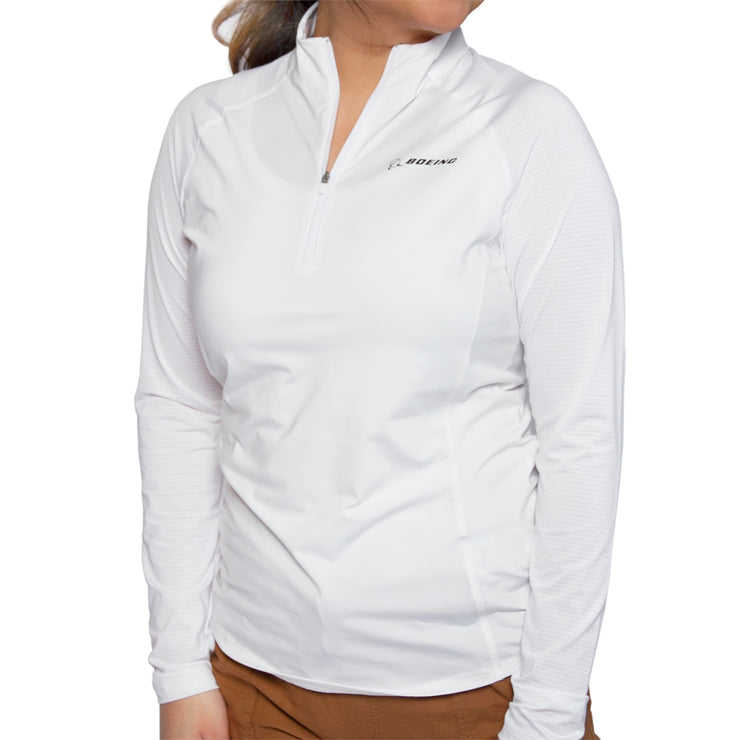 Adidas Boeing Women's Quarter Zip