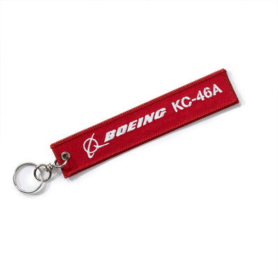 Boeing Remove Before Flight KC-46A Keychain (2288957456506)