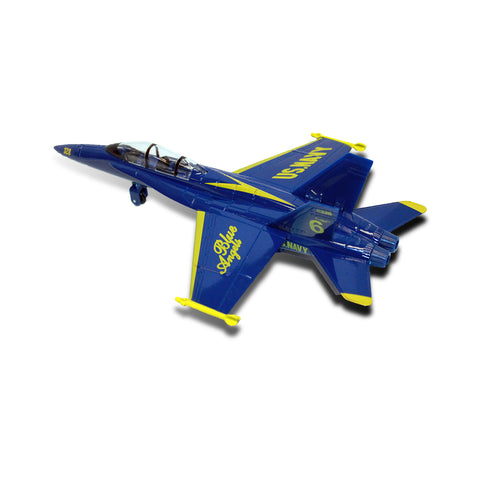Blue Angels F-18 Jumbo Diecast Pullback Model