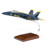 Blue Angels F/A-18 Hornet Plastic 1:48 Model