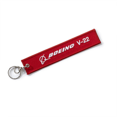 V-22 Remove Before Flight Keychain