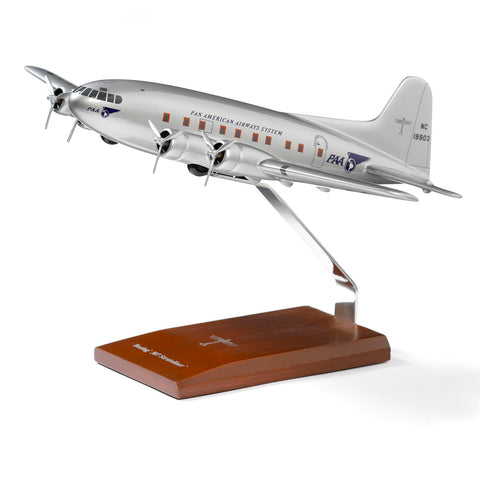 Boeing 307 Stratoliner Wood 1:72 Model