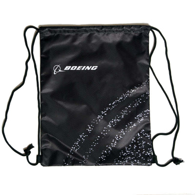 Boeing Space Pattern Cinch Bag