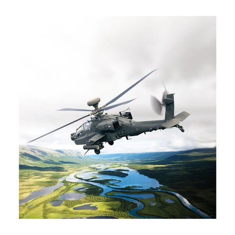 AH-64 Matted Print Large