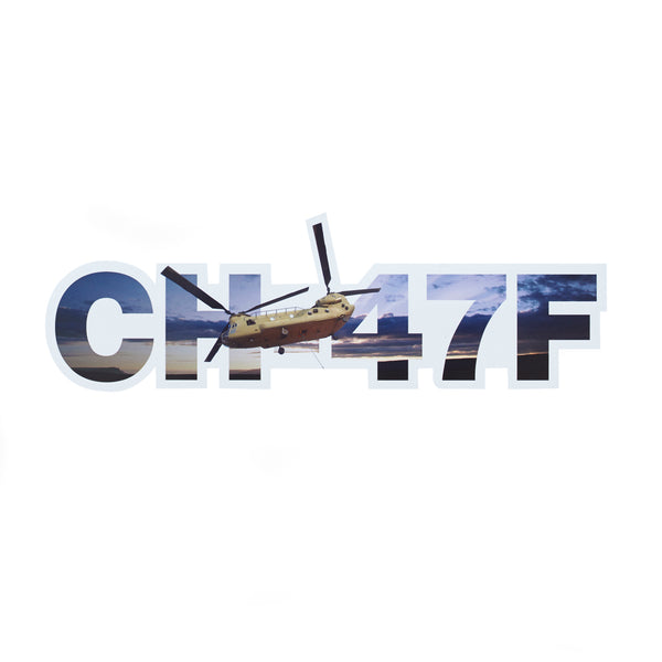 CH-47F Chinook Die-Cut Sticker