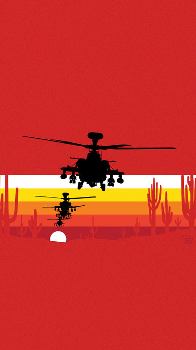 Ames Bros Boeing Apache Mobile Wallpaper (2801282023546)