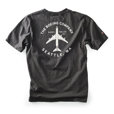 Red Canoe Boeing Company T-Shirt (2723359522938)