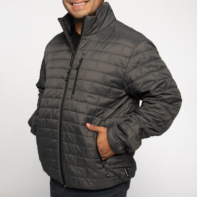 Boeing Brick Quilted Puffer Jacket (2887766409338)