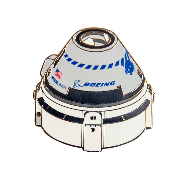 Boeing Starliner Illustrated Magnet