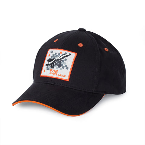 F-15 Strike Eagle Pixel Graphic Hat