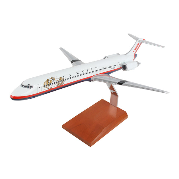 Trans World Airlines Boeing MD-80 1:100 Model