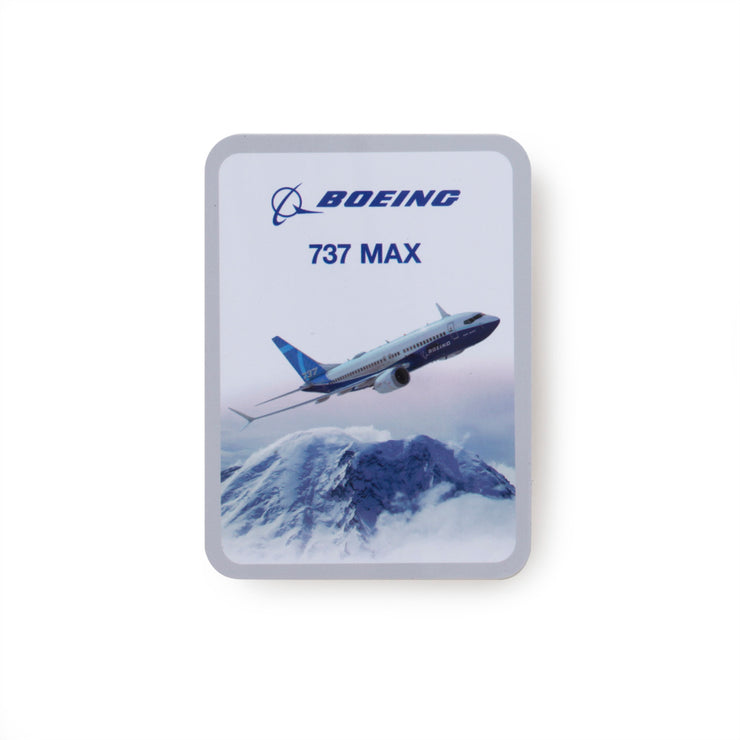 Boeing Endeavors 737 MAX Sticker