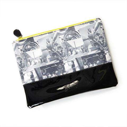 Rosie the Riveter Pouch Bag -- Medium