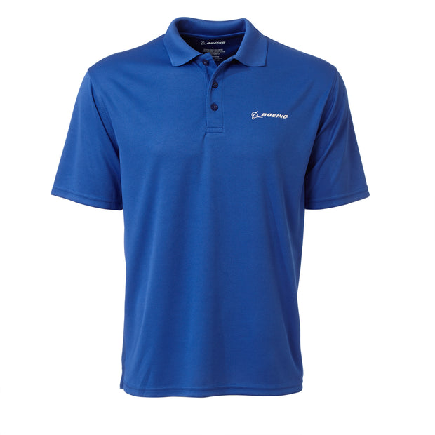 Boeing Tech Jacquard Polo