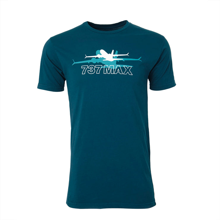 Boeing Shadow Graphic 737 MAX T-Shirt