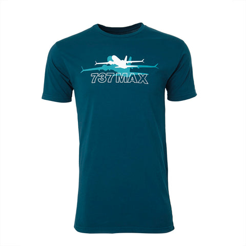 737 MAX Shadow Graphic T-Shirt